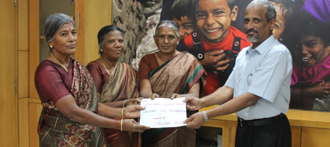 Amidst grim despair, a shining little story of gratitude from Palani