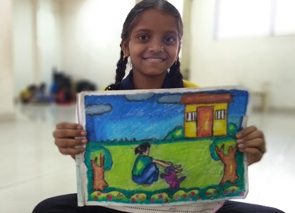 Children Use Art to Express Themselves